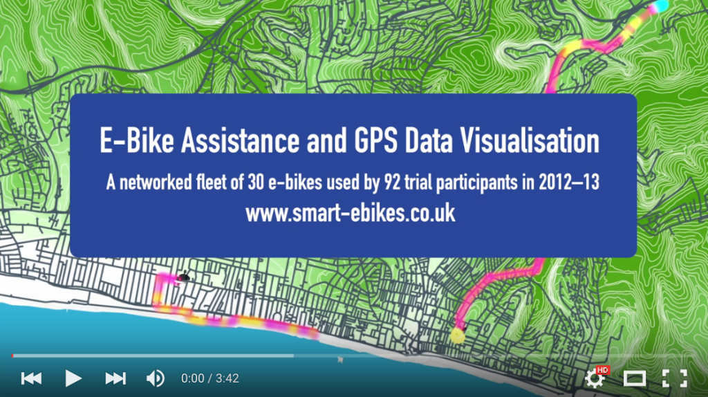 e-bike data vis